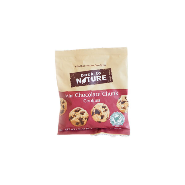 Back to Nature - Chocolate Chunk Cookies - (Case of 24)