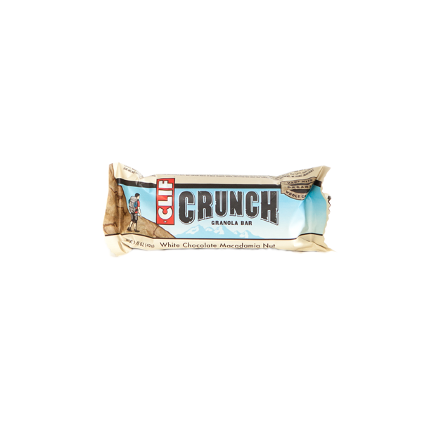Clif - Crunch Bar - White Chocolate Macadamia - (Case of 5)
