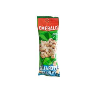 Emerald Nuts - Salt & Pepper Cashews (Case of 12)