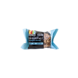 KIND Breakfast Bars: Blueberry Almond - (Case of 8/4 packs)
