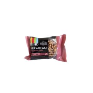 KIND Breakfast Bars: Raspberry Chia - (Case of 8/4 packs)