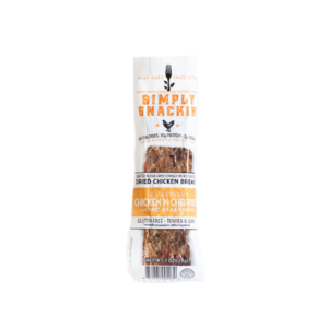 Simply Snackin' - Jerky - Chicken 'N Cherries - (Pkg of 10)