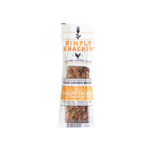 Simply Snackin' - Jerky - Italiano Chicken - (Pkg of 10)
