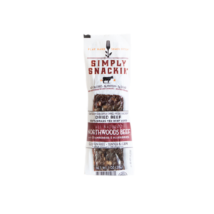 Simply Snackin' - Jerky - Northwoods Beef w/berries - (Pkg of 10)