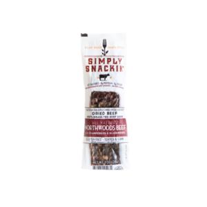 Simply Snackin' - Jerky - Northwoods Beef w/berries - (Pkg of 10)