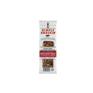 Simply Snackin' - Jerky - Orchard Beef - (Pkg of 10)