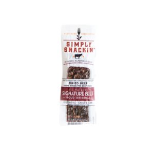 Simply Snackin' - Jerky - Signature Beef - (Pkg of 10)