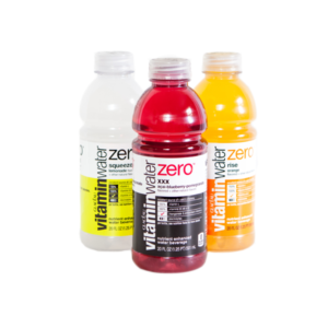 Vitamin Water ZERO - Variety pack - XXX/Rise/Squeezed (Case of 20)